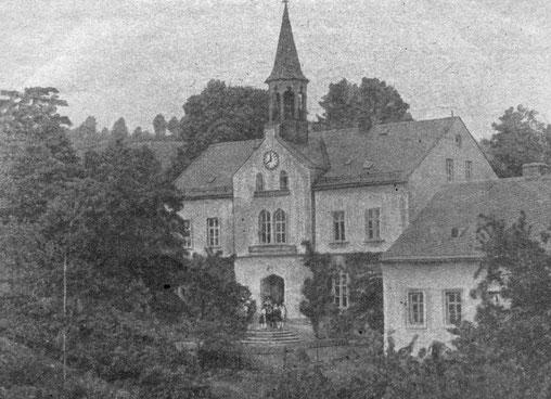 Bild: Teichler Wünschendorf Erzgebirge Schule 1950