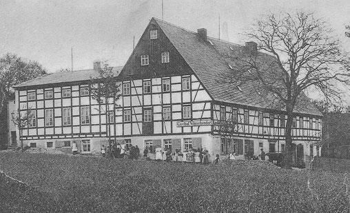 Bild: Teichler Gasthof Wünschendorf Erzgebirge