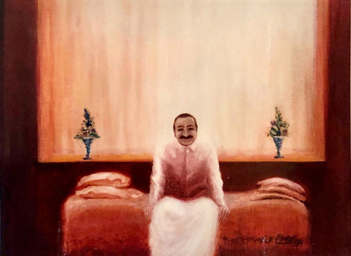 Meher Baba at Avatar's Abode