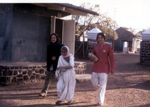 Feb 1975 —  Mansari with Art (L) and Peter Nordeen (R)