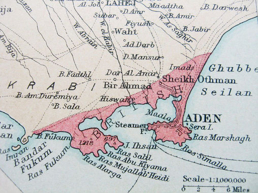 Aden : a British Protectorate settlement ( now part of Yemen )