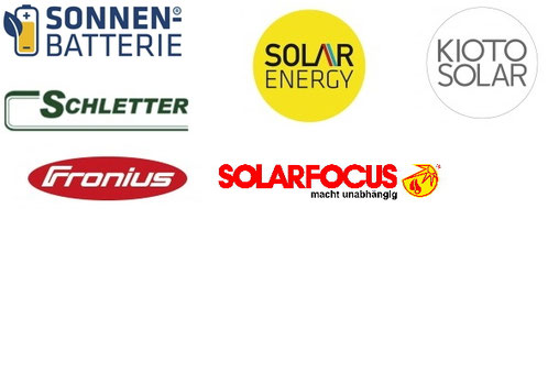 Logos Lieferanten Photovoltaik