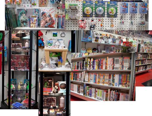 BaT carries Manga, imports, ...