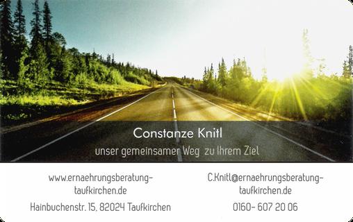 Constanze Knitl - Zertifizierte Ernährungsberaterin