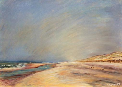 Erwin Bowien ( 1899-1972): Egmont aan Zee im Sommer, 1937