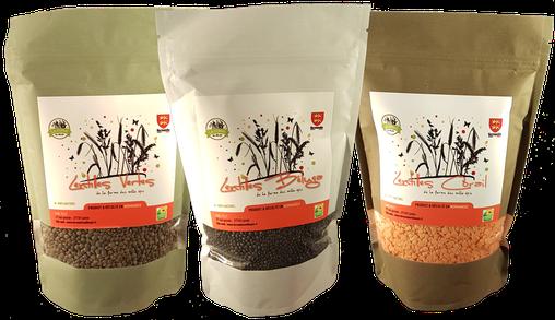 sachet quinoa Ferme des mille épis