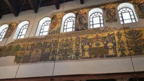 Настенные мозаики Храма Рождества
