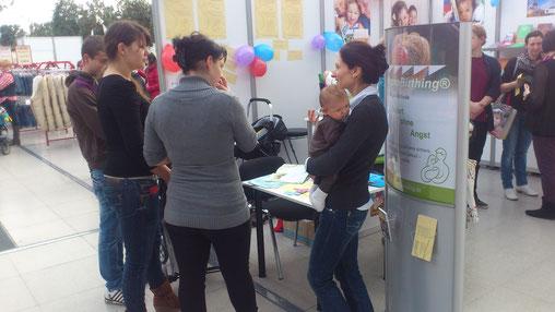Babymesse 2013 in Leipzig mit HypnoBirthing