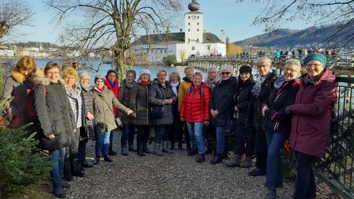 Gruppenbild der LandFrauen die beim Ausflug nach Flachau dabei waren.