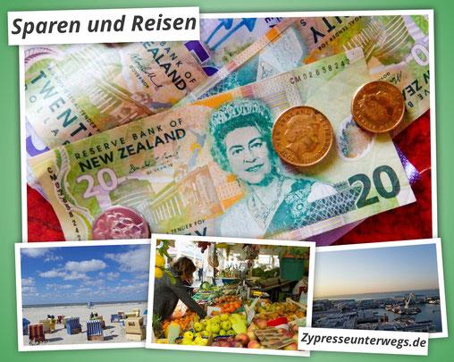 Sparen und Reisen