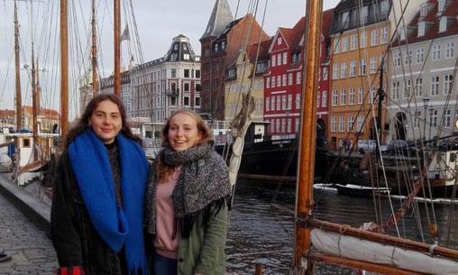 Franzi und Ich am Nyhavn