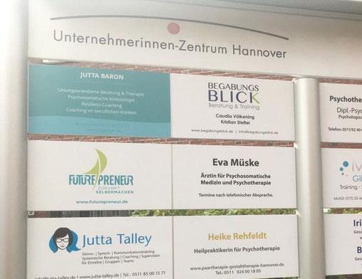 Neues Büro im Unternehmerinnen-Zentrum Hannover, Futurepreneur