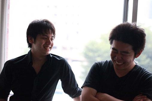 左:副座長 / 朝戸 佑飛  右:座長 / 菊地 史恩