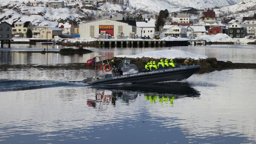Ausflugsboot zu den Seeadlern