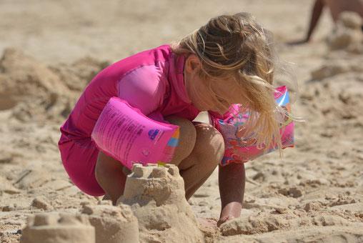 Kind im Sand, Gran Canaria