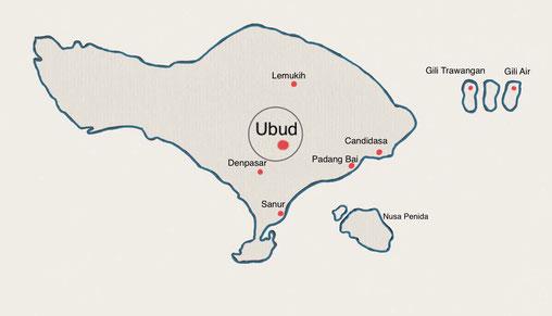 Bali - Ubud - Weltreise Blog und Reiseziele - Travel um die Welt