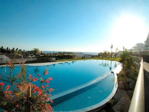 Ferienwohnung mit grossen Pool im Süden von Teneriffa zu vermieten