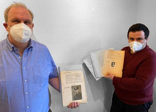 Dr. Frank Ahland und Guillaume Destrac. (Foto: Manuel Izdebski)