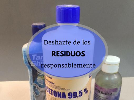 no tirar los residuos contaminantes a la basura - AorganiZarte.com