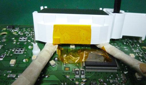 車 メータ 基板 LED交換準備
