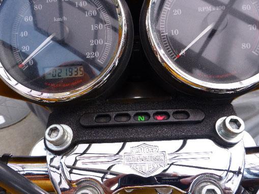 Harley-Davidson Sportster1200 インジケータ 車載後