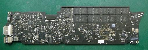 MacBook Air(11-inchi,mid 2012) マザーボード裏