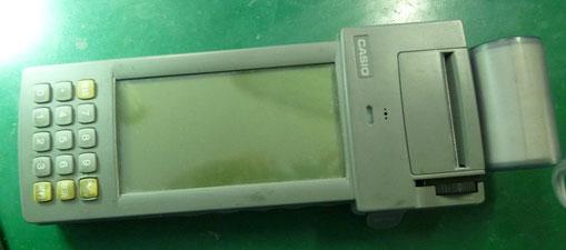 ハンディターミナル CASIO DT-9000