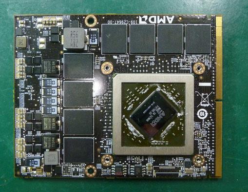 DELL PrecisionM6600 グラフィックカード
