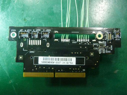Mac mini late2009 SATAコネクタジャンパ配線