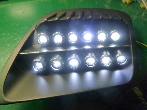 GM シボレーコルベット ヘッドライト修理