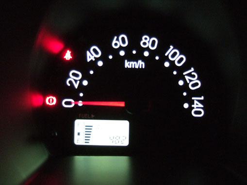 車 メータ LED交換後