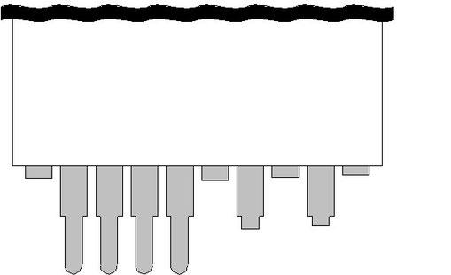 ハンディターミナル CASIO DT-9000 ケーブル修復1