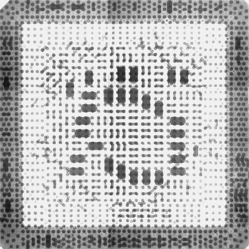 DELL PrecisionM6600 GPU X線検査