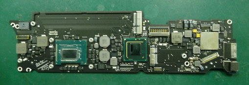 MacBook Air(11-inchi,mid 2012) CPU交換後