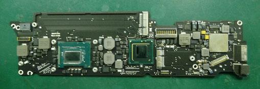 MacBook Air(11-inchi,mid 2012) CPU交換後