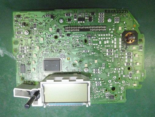 車 メータ 基板 LED 交換前