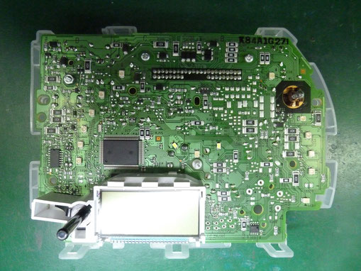 車 メータ 基板 LED交換後