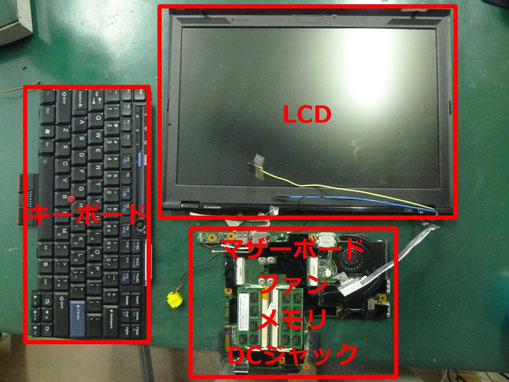 ThinkPadX301 CPU交換 依頼品