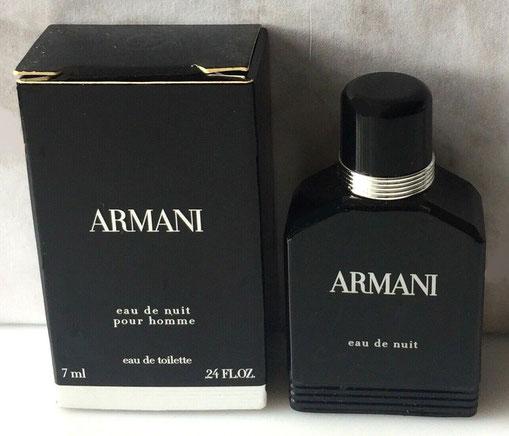 ARMANI - EAU DE NUIT POUR HOMME : EAU DE TOILETTE 7 ML