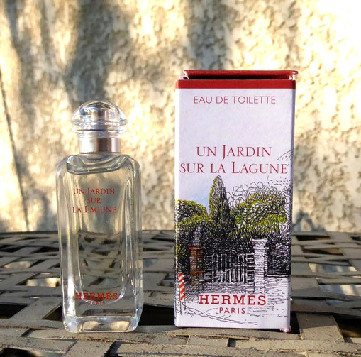 2019 - UN JARDIN SUR LA LAGUNE : EAU DE TOILETTE
