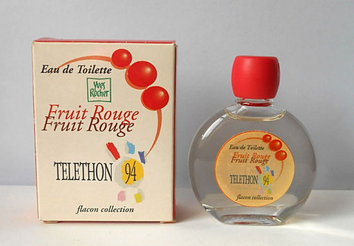 EDITION SPECIALE TELETHON 1994 : FRUIT ROUGE - EAU DE TOILETTE