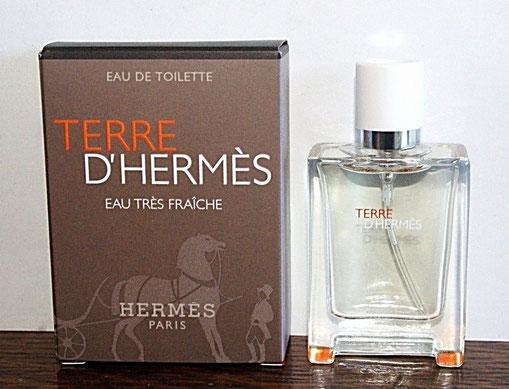 2014 - TERRE D'HERMES EAU TRES FRAÎCHE - VAPORISATEUR EAU DE TOILETTE 12,5 ML