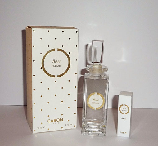 CARON - ROSE EXTRAIT 50 ML & ECHANTILLON-TUBE