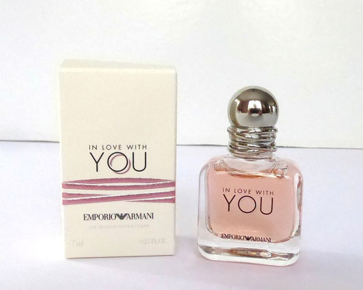 2019 - IN LOVE WITH YOU : EAU DE PARFUM 7 ML