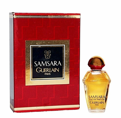 SAMSARA - EAU DE PARFUM 5 ML, DANS LUXUEUX COFFRET A GLISSIERE