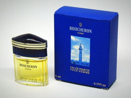 BOUCHERON - EAU DE TOILETTE POUR HOMME 5 ML : BOÎTE BLEUE VIF