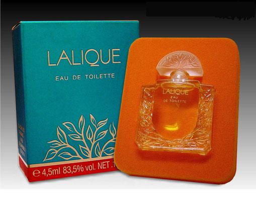 LALIQUE - EAU DE TOILETTE 4,5 ML - BOÎTE TURQUOISE LISSE
