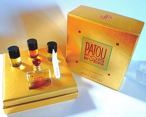 JEAN PATOU - L'ORGUE DU PARFUMEUR : FRAGRANCE PATOUR FOR EVER