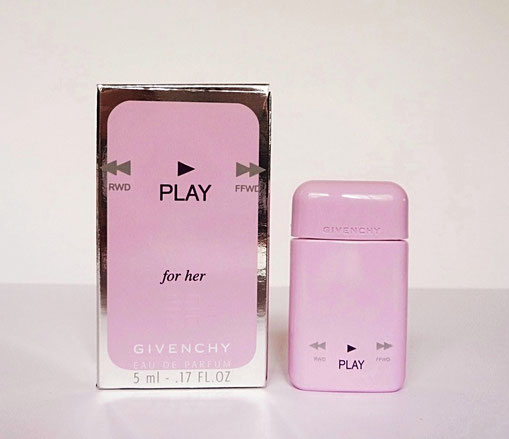 2013 - PLAY FOR HER  - EAU DE PARFUM 5 ML