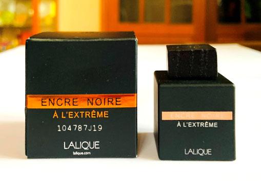 MINIATURE ENCRE NOIRE A L'EXTRÊME : POUR HOMME, 4,5 ML